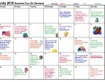 comcast family calendar