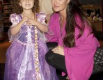 Portia Umansky (Kyle Richards) as Tangled's Rapunzel