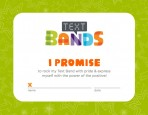 Text Bands Promise