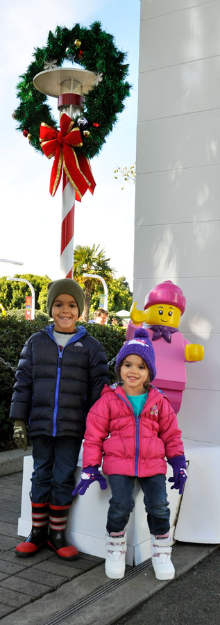 Snow Play at LEGOLAND