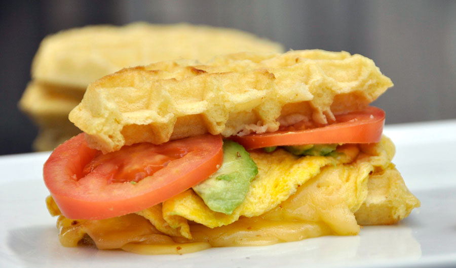 Get Creative With Two Easy Waffle Sandwich Recipes - Rockin Mama™