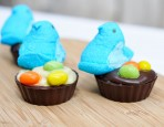Peeps Pudding Nests