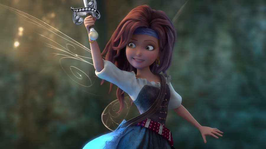 pirate fairy celebrates friendship, teamwork and second chances