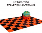 Duck Tape Halloween Placemat