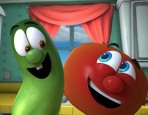 Bob and Larry from VeggieTales