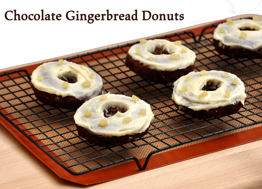 Gingerbread Doughnuts Recipe — Dishmaps