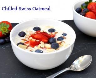 Chilled Swiss Oatmeal Recipe