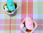 Easter Chick Pudding Nests