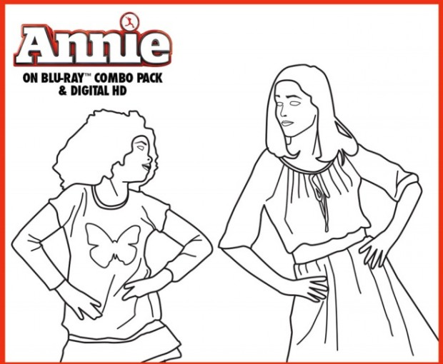 coloring pages annie - photo#6