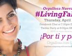Living Fabulosa Twitter Party Invite