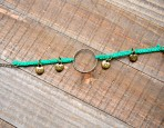 Macrame Charm Bracelet