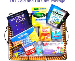 Cold and Flu Care Package