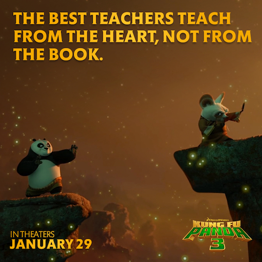 What Genre Is Warriors Into The Wild: Kung Fu Panda Quotes