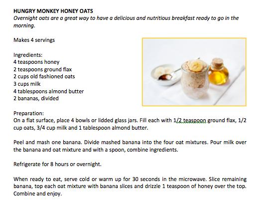 Hungry Monkey Honey Oats