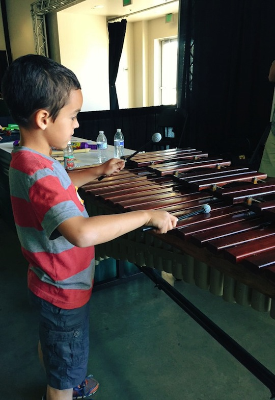 Playing Xylophone
