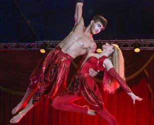 Circus Vargas Aerialists