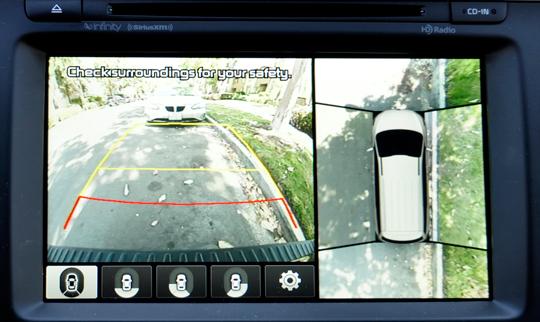 Kia Sedona Rearview Camera